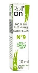 Roll'on aux huiles essentielles bio N°9 Relaxant